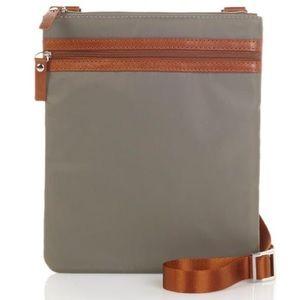 Travelsmith RFID Blocking Nylon Crossbody Bag
